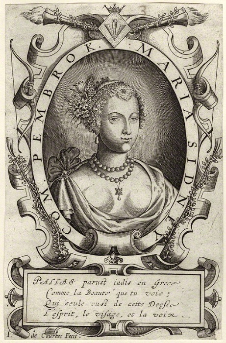 Мэри Сидни, графиня Пемброк, была очень популярной поэтессой своего времени.