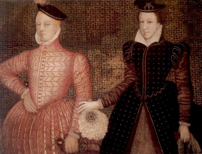 Мария Стюарт со своим мужем-кузеном.