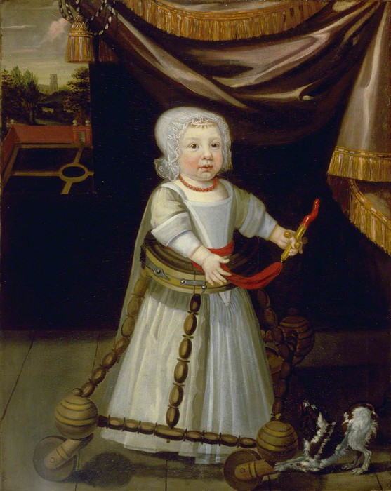 Мальчик с кораллом. Неизвестный художник семнадцатого века.