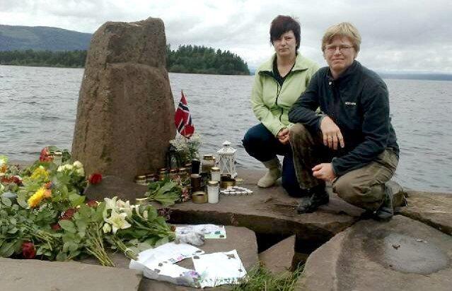 Узнав от спасённых, что их вытаскивали из воды две женщины, блондинка и брюнетка, журналисты отыскали героинь. Ими оказались супруги Хеге Дален и Торил Хансен.