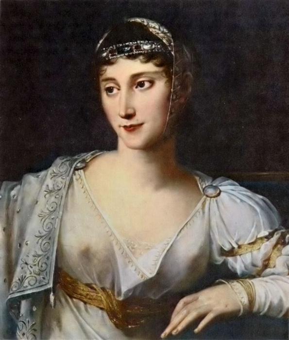 Портрет сестры Наполеона Полины Бонапарт кисти Робера Лефевра.