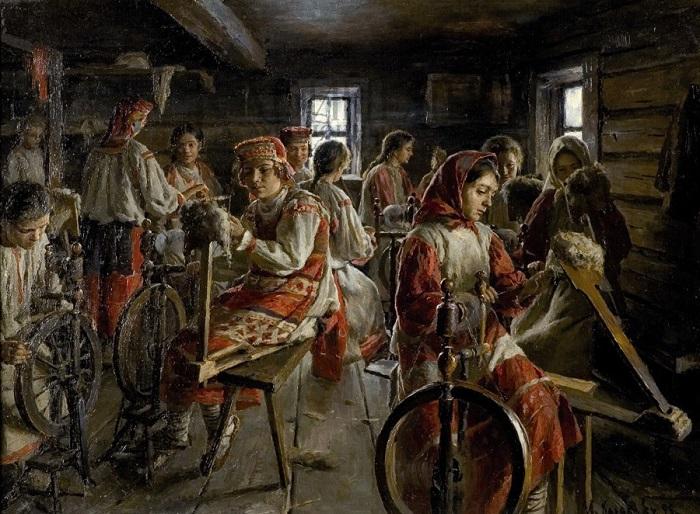 Картина Ивана Казакова.