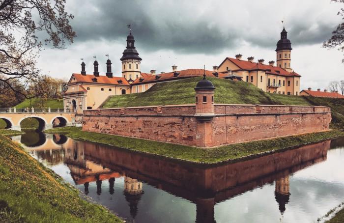 На белорусской земле ещё со времён Великого княжества Литовского осталось много замков
