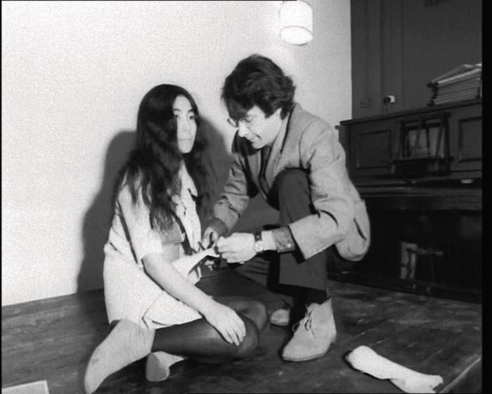 Йоко со вторым мужем