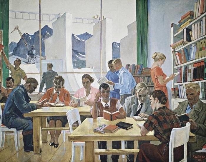 Картина Александра Дейнеки.