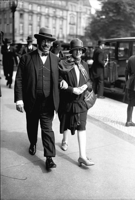 Гильфердинг с женой, в 1928 году (Bundesarchiv)