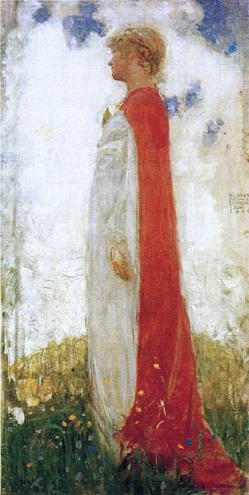 Эстер в образе феи, рисунок Йона Бауэра.