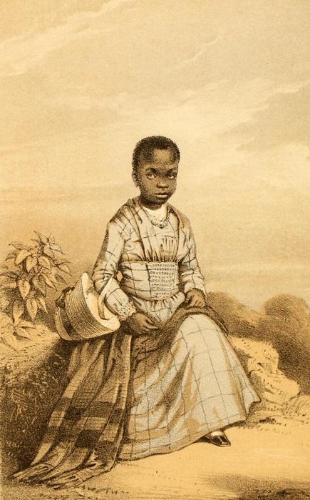 Портрет Сары Форбс, сделанный её приёмным отцом Фредериком Форбсом.