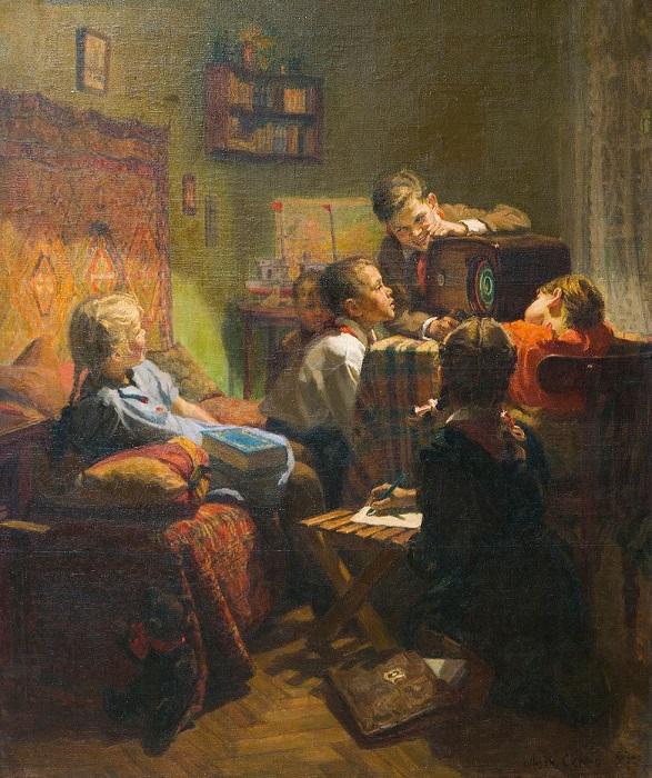 Картина Людмиды Скубко-Карпас.