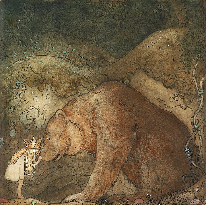 Йон Бауэр. Иллюстрация к книге «Путешествие Оскульденс».