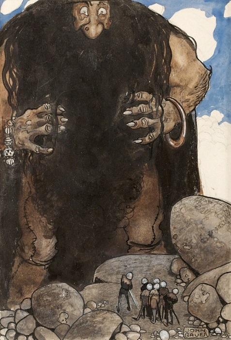 Некоторые рисунки Йона Бауэра существуют в двух-трёх версиях, потому что издательство отказалось отдавать ему оригиналы иллюстраций назад.