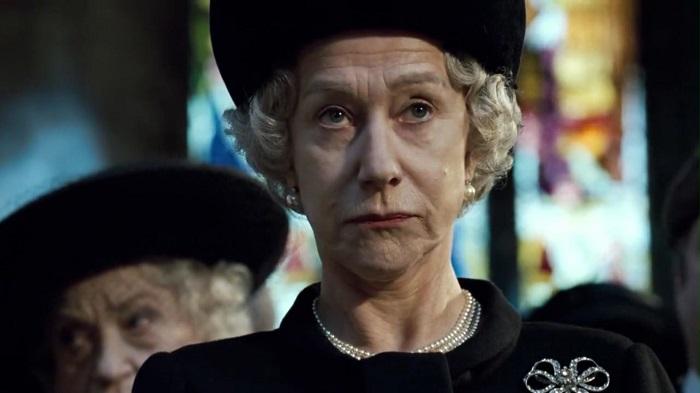 Хелен Миррен в роли королевы Елизаветы II.