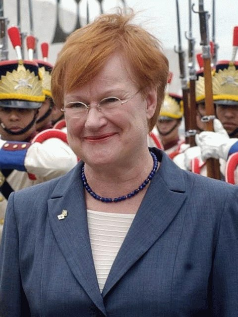 Бывшая президент Тарья Халонен.