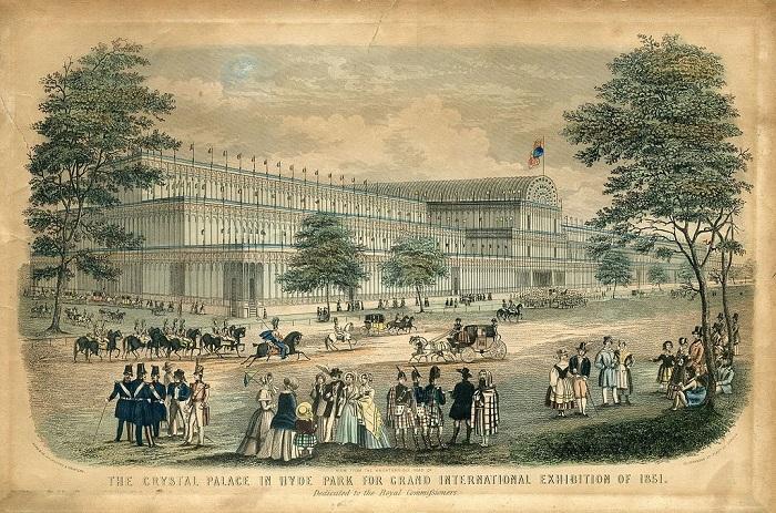 Лондонская Всемирная выставка была грандиозным событием.