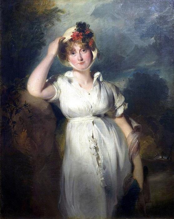 Портрет Каролины кисти Томаса Лоуренса.