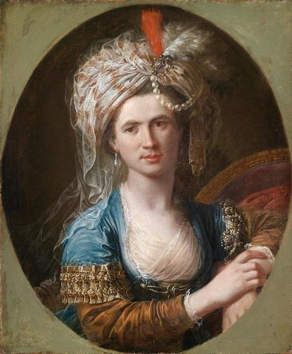 Один из вероятных портретов самого знаменитого трансгендера XVIII века.