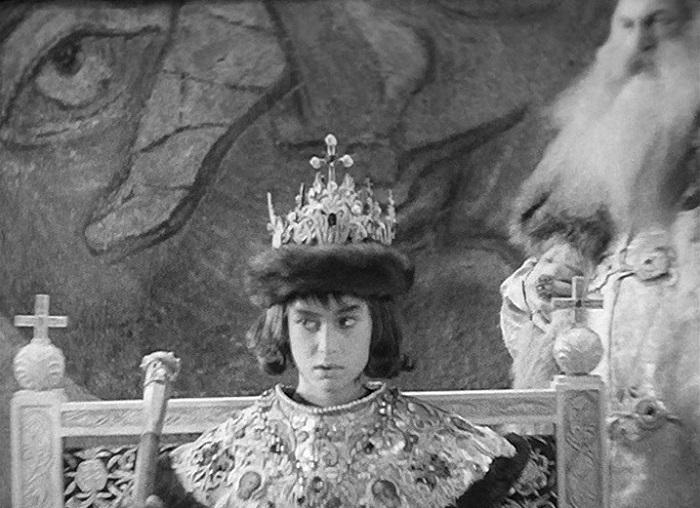 Кадр из фильма «Иван Грозный» Тарковского.