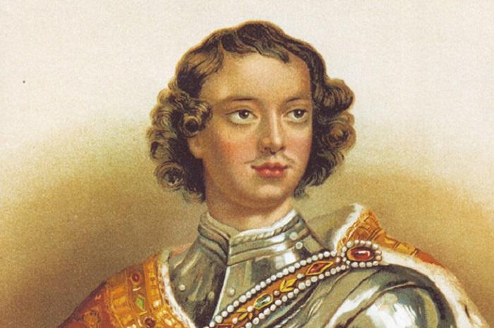 Юный Пётр был помешан на армии и всём военном.