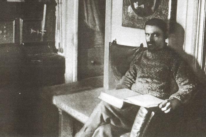 Молодой Колчак в одной из экспедиций.