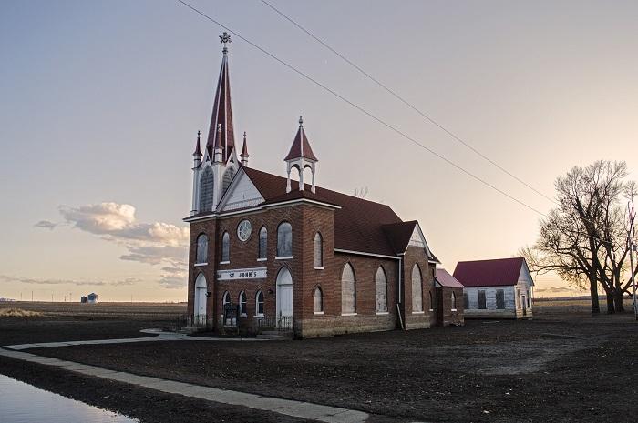 Во многих городах США можно увидеть лютеранскую церковь.