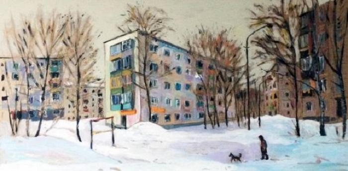 Картина Ильгиза Гимранова.