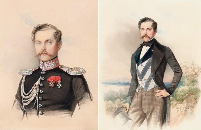 Николай Владимирович Адлерберг был чрезвычайно похож на Александра II.