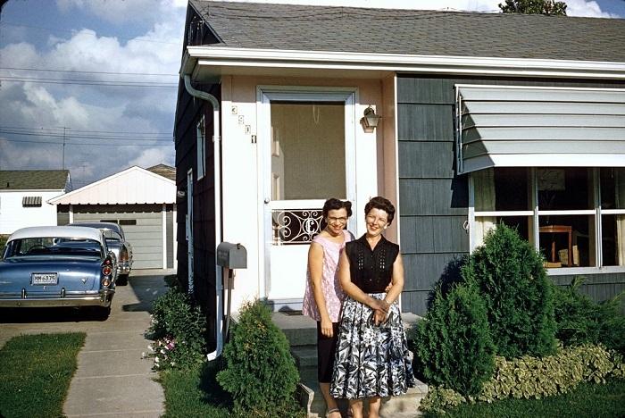 Американки, фотография пятидесятых.