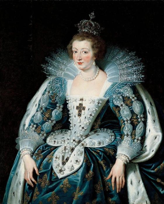 Анна непохожа на современных красавиц, но в своё время считалась блистательной.