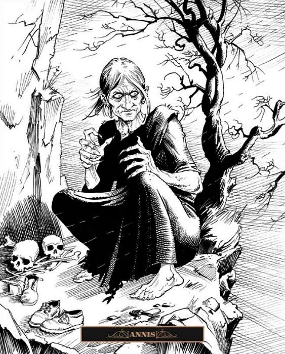 Рисунок Клаудио Санчеса Вивероса.