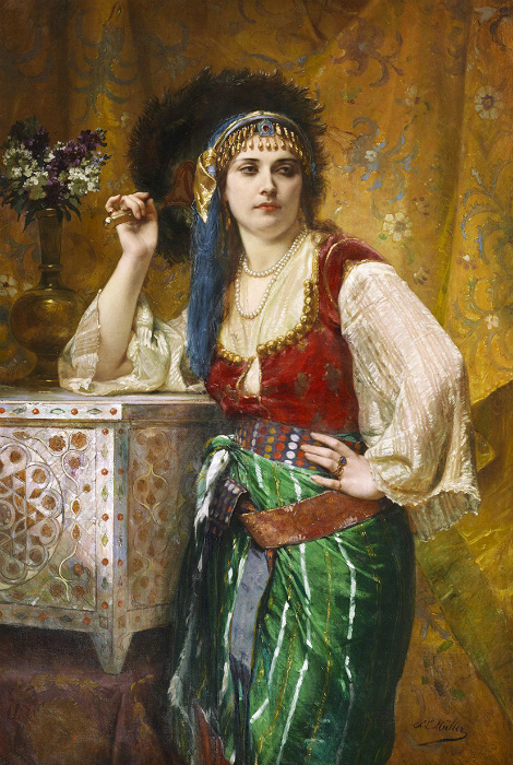 Ариб удивляла мужчин своими дерзкими манерами, но ей всё прощали за талант.