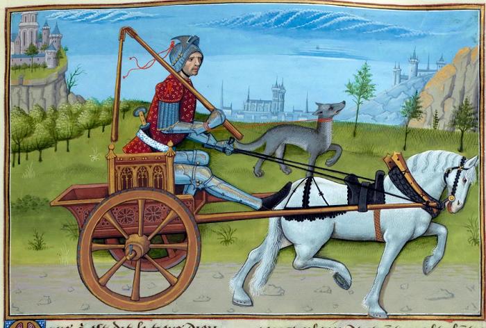 Средневековое изображение Ареса (Марса), которое, кстати, опровергает теорию, что до Ренессанса никто не пытался изобразить блики на металле.
