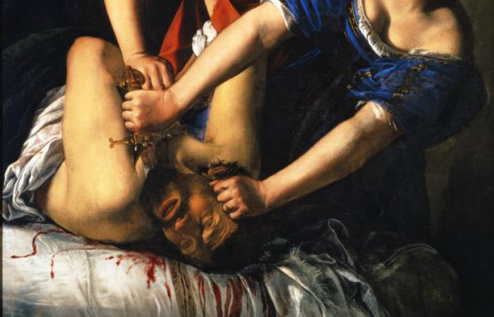 5 самых громких случаев женской мести за издевательства мужчины в истории. Фрагмент картины Артемизии Джентилески.