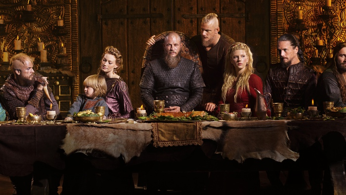 Английские обычаи слабо защищали жён. Персонажи сериала «Викинги».