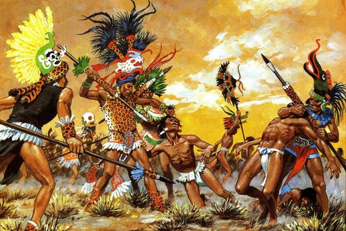 Цветочные войны ацтеков были не очень-то цветочными.