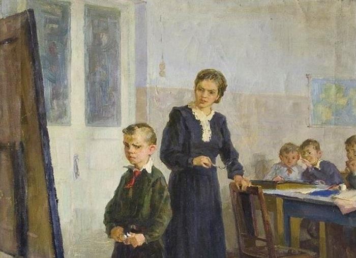 Картина Ларисы Лукониной-Овичнниковой.