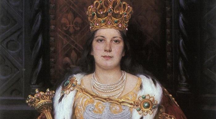 Легендарная польская королева Ядвига происходила из Анжуйской династии.