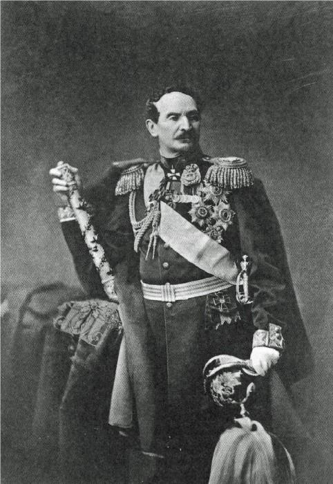 Автор указа, наместник в Царстве Польском, фон Берг.