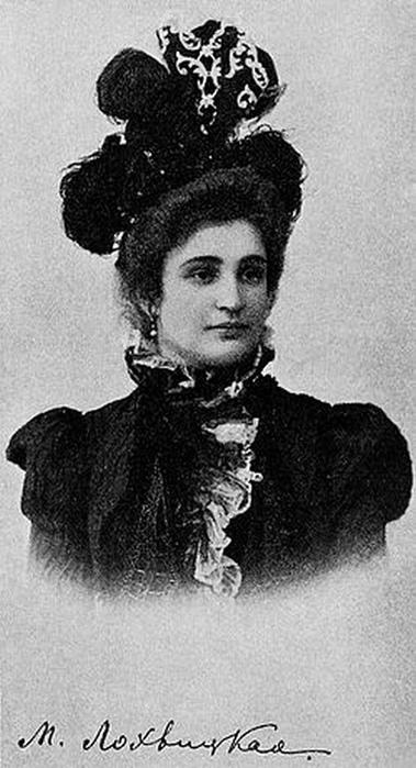 Мирра Лохвицкая известна ещё и романом с Константином Бальмонтом.