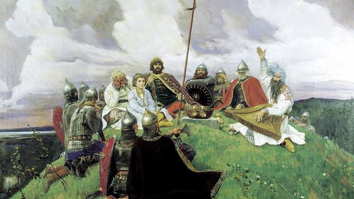 Картина Виктора Васнецова.