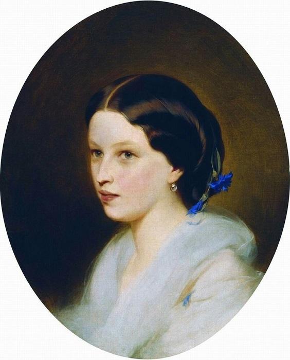 Известно, что именно с Марии Толстой списал внешность своей Анны Карениной.