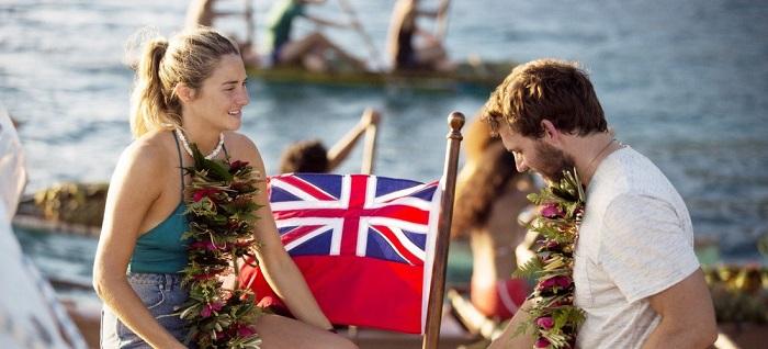 Тами и Ричард как персонажи фильма «Во власти стихии», снятом по истории Тами.