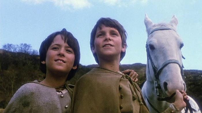 Советские дети знали Кристиана Бейла по фильму *Мио, мой Мио*.