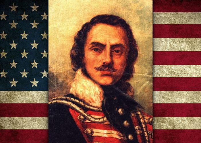 Казимир Пулавский — признанный американский национальный герой.