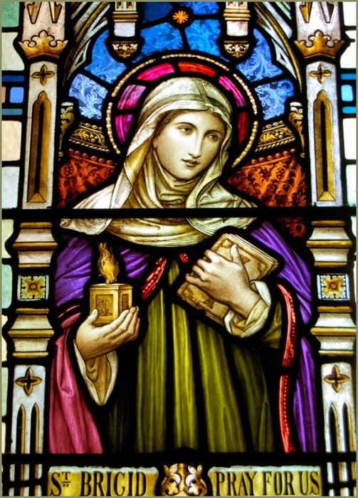Свята Бригитта прославилась добротой к бедным и дрессированной лисой.