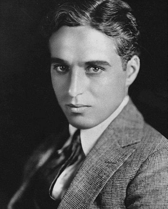 Чарли Чаплин в молодости.