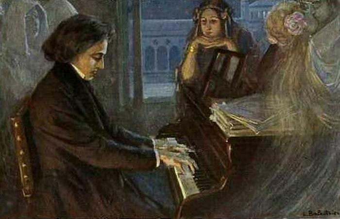 Санд была влюблена в талант Шопена.