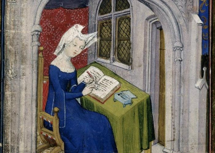 Кристина Пизанская выросла в окружении лучшего собрания книг в Европе.