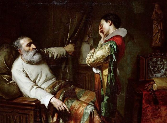 Смерть Колумба на картине Клода Жакуана