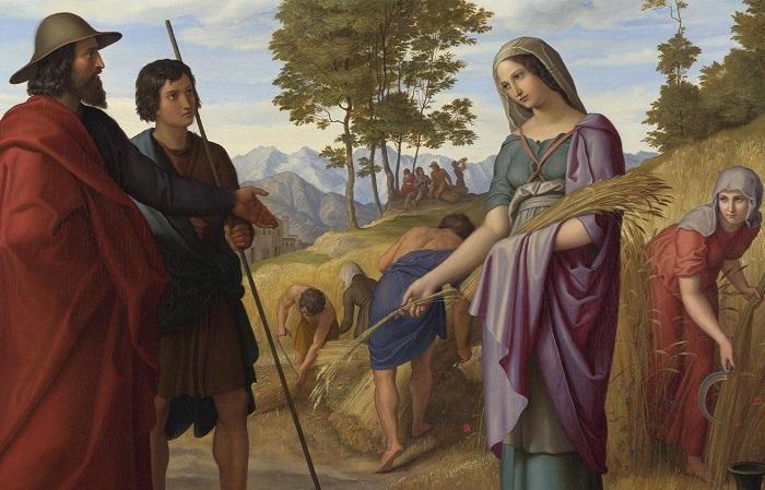 Любимые ветхозаветные героини художников прошлого: Как их узнать. Картина Юлиуса Шнора.