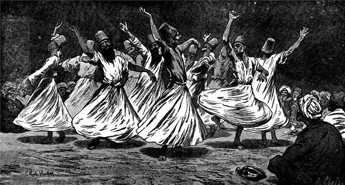 Сейчас танцу дервишей учат и на курсах танца живота, но фактически это уничтожает всю суть обрядового танца.